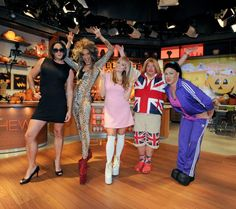 The Chew's cast dressed up for Halloween