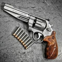 """frpost: """" whiskey-wolf: """" SW MAG 8 Shot Revolver with 8 rounds of Hydra-Shok ammo outlaw """" I want :) """" Weapons Guns, Guns And Ammo, Smith And Wesson Revolvers, Smith Wesson, Hand Cannon, Revolver Pistol, Fire Powers, Cool Guns, Tactical Gear"""