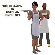 Mod The Sims - The Business as Unusual Bistro Set - Updated for The Sims, Sims 4, Sims 3 Mods, Chef Jobs, Play Sims, Bistro Set, Going Home, Decorating Tips, Business