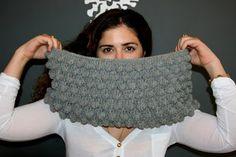 Ooty: Blackberry salad cowl Crochet Free Pattern