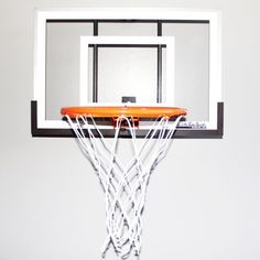 Wall Mounted Mini Basketball Hoop - Mini Pro Xtreme by JustInTymeSports. $145.99. From the manufacturers of the original Mini Pro Basketball Hoop comes the Mini Pro Xtreme! Big enough to handle your tough dunks, yet still small enough to be used in a bedroom, this hoop is as realistic as it gets. The backboard is made out of polycarbonate and backed by a steel frame so it provides great rebound and is nearly unbreakable. The pro-style graphics give you the authentic loo...