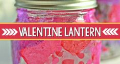 Valentine lanterns kids can make as a Valentine gift that encourages creativity in the preschool, pre-k, and kindergarten classroom. Valentines Songs For Kids, Valentine Sensory, Valentine Theme, Valentines For Kids, Valentine Day Crafts, Valentine Ideas, Holiday Crafts, Playdough Activities, Activities For Kids