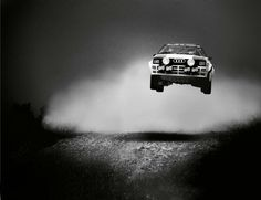 Audi rally car from the 80's