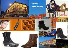 Kopenhagen stond model voor de trend stylish simplicity. Geschikt bij deze look zijn bijvoorbeeld de laarsjes van You Know, s. Oliver en Tamaris.