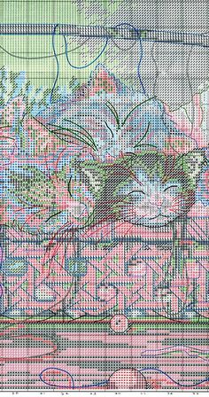 Gallery.ru / Фото #1 - коты в корзине - irinakiz