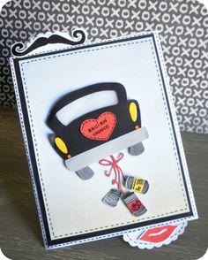 Miss papeles - Tarjeta porta dinero boda #cardmaking #tarjeta #boda #ideasboda #justmarried #reciencasados #scrapbooking