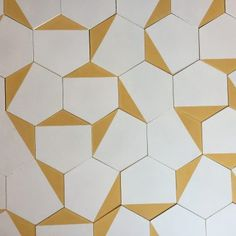 Ecological Living, master how to be eco-friendly with the simple pointers and generate Home made cleansers, look up genuine goods and even more. Floor Design, Tile Design, Tile Patterns, Print Patterns, Yellow Tile, Geometric Tiles, Clay Tiles, Tiles Texture, Eco Friendly House