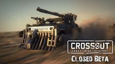 Gaijin Entertainment and Targem Games announced that the post-apocalyptic vehicle combat MMO, Crossout, has now entered the Closed Beta.