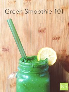 Green Smoothie recipe from Nutrition Stripped