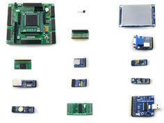 Altera Cycone Board EP2C8Q208C8N ALTERA Cyclone II FPGA Development Board+3.2inch LCD+12 Modules= OpenEP2C8-C Package A #Affiliate