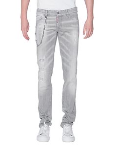 DSQUARED2 Slim Jean Chain Grey
