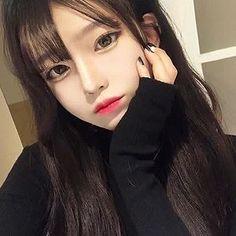 Image about girl in ulzzang by m on We Heart It Pretty Korean Girls, Korean Beauty Girls, Cute Korean Girl, Cute Asian Girls, Beautiful Asian Girls, Asian Beauty, Uzzlang Girl, Girl Face, Cute Kawaii Girl
