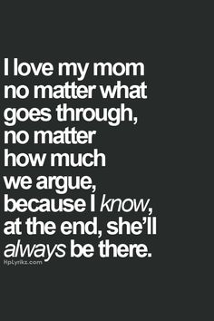 Mom ♡ I can never thank you enough for all you have donr for me...
