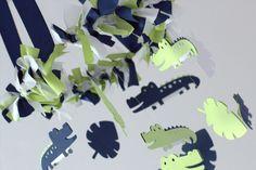 Alligator Nursery Mobile for Boy Nursery Decor, by Lovebug Lullabies