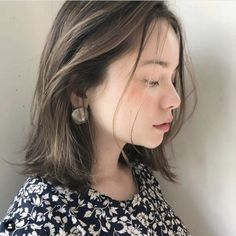 Lob Hairstyle, Long Bob Hairstyles, Shot Hair Styles, Hair Arrange, Hair Images, Girl Short Hair, Hair Color Balayage, Hair Inspo, Medium Hair Styles