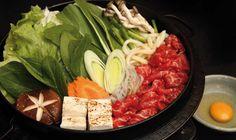 Receita sukiyaki  do chef Cássio Ikegami, do restaurante Rangetsu of Tokyo