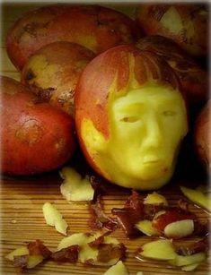 Food art potato