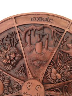Wheel Of The Year Plaque - Imbolc