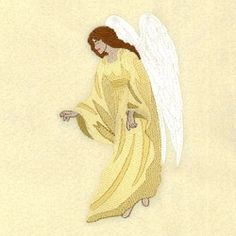 Heavenly Angel 2 - 5x7 | What's New | Machine Embroidery Designs | SWAKembroidery.com Starbird Stock Designs