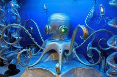 Commission for Monterey Bay Aquarium finished! - Nemo Gould