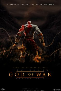 Is that not perfect that Tom hardy would play Kratos? I think so. | Video Game Movies « marenkramer