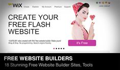 In this article we will show you 18 stunning free website builder sites and tools of 2013. Do you want to build your own website without having to pay a professional designer and programmer? You are in right place today!...