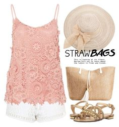 Carry On: Straw Bags 1622 by boxthoughts on Polyvore featuring polyvore, fashion, style, Hallhuber, Topshop, MICHAEL Michael Kors, INC International Concepts, clothing and strawbags
