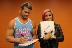 The struggle? | 25 Thoughts WWE's Dolph Ziggler And Natalya Have On Totally Random Things