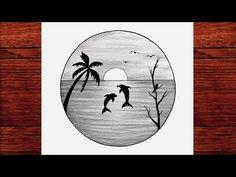 Kolay Karakalem Manzara Çizimleri - Karakalem Çizimleri Kolay - Çizim Mektebi Karakalem 2021