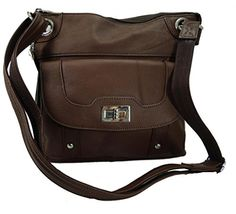 Concealed Carry Cross Body Leather Gun Purse with Locking Zipper Brown Roma Leathers http://www.amazon.com/dp/B00O1BQSB4/ref=cm_sw_r_pi_dp_vp14ub0JX6MQ8