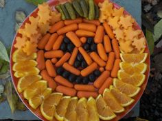 Halloween Party tray food