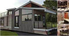 Any lover of tiny homes will tell you that sometimes they all blend together with the typical exterior look and neutral color palettes but that's not the case with the Denali model from Utopian Villas. This Wisconsin-based builder has designed a tiny house that's completely different than any other tiny house we've seen in quite some time! This 400-square foot house has a modern exterior and a luxurious interior that you have to see! The inside of the Denali is packed full of high-end…