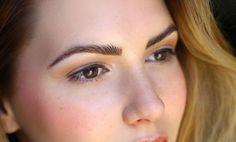 permanente make-up mooie foto wenkbrauwen