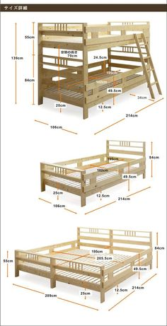 Spectacular Diy Bed Design Ideas That Suitable For Small Space Diy Kids Furniture, Bed Furniture, Pallet Furniture, Furniture Design, Bed Frame Design, Diy Bed Frame, Bunker Bed, Bunk Bed Rooms, Bunk Bed Plans