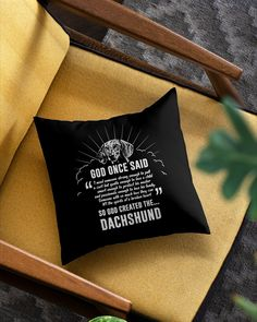 God Once Said Dachshund Dog Dog Gift T-Shirt - Black dachshund pup, the best dog quotes, funny dog quotes hilarious #ruhrpott #festbrennweite #dachshundsofinstagram, dried orange slices, yule decorations, scandinavian christmas Long Haired Dachshund, Dachshund Dog, Dachshund Tattoo, Black Dachshund, Dog Quotes Funny, Funny Dogs, Best Dog Quotes, Dried Orange Slices, Dried Oranges