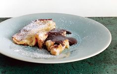 Oven Crespella with Nutella - one of my favorite weekend brunch items, super easy.  Also tastes good with lemon and sugar, and berries.