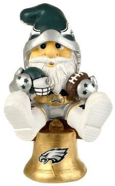 NFL Philadelphia Eagles Thematic Gnome - 2nd Version by Forever Collectibles. $21.99. Collectible. Hand-Crafted. 100% POLYRESIN. Officially Licensed. Philadelphia Eagles. Forever Collectibles offers a full line of 100% officially licensed team merchandise. We offer a complete line of home décor, garden décor, novelty, apparel, tech accessories and seasonal items.