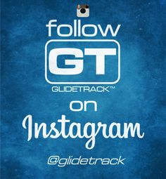Follow GLIDETRACK on Instagram @glidetrack for all news and photos from our HQ.