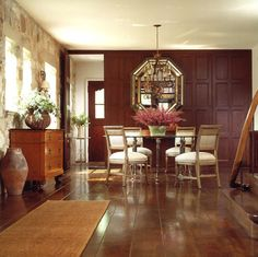 Ayers - rustic - Dining Room - Chicago - Culligan Abraham Architecture