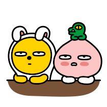 Kakao Friends, Emoticon, Coupon, Wedding Dress, Kawaii, Drawings, Shop, Fictional Characters, Smiley