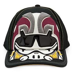 $4.99 Disney Star Wars Rebels Baseball Cap for Kids | Disney StoreStar Wars Rebels Baseball Cap for Kids - Sign-up for the style rebellion wearing our cool <i>Star Wars Rebels</i> baseball cap. Embroidered design covers the front panel and bill, with adjustable self-stick fabric strap in back for an Imperial fit.