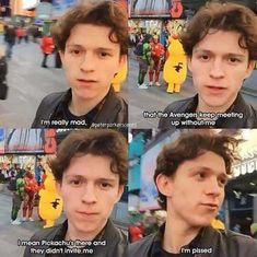 Tom Holland - One shots - Tea - Tom Holland Have a crush on Tom Holland? Well you came to the right place, just a set of Tom Holland, Peter Parker and Spider-man one shots. Contains fluff and some smut ; Marvel Jokes, Funny Marvel Memes, Dc Memes, Avengers Memes, Stupid Funny Memes, Funny Relatable Memes, Funny Stuff, Fun Funny, Captain Marvel