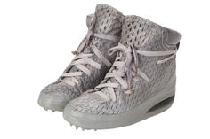 """Carol Christian Poell – ONE PIECE LACEABLE HAND DIPPED IN RUBBER KANGAROO AND COW LEATHER """"U""""-SOLE SNEAKER."""