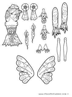 Lilah Fairy Puppet www.pheemcfaddell.com