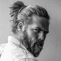 Dude. When you are ready to grow your man bun DM me...I can help you with that.  #ManBun #GetTrending #growhairfast #SEXYMAN