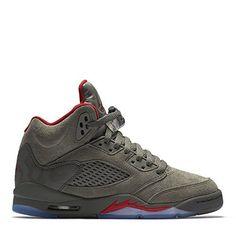1a46fe897b41 Jordan Air 5 Retro BG lifestyle youth kids sneakers dark stucco university  red New 440888