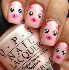 Simple and simple Zoo Animal Nail Art Designs Simple and simple Zoo Animal Nail Art Designs Cute Nail Art Designs, Simple Nail Designs, Pedicure Designs, Easy Designs, Pretty Designs, Nail Art For Kids, New Nail Art, Cool Nail Art, Art Kids