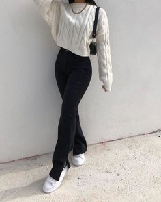 Casual Winter Outfits, Winter Fashion Outfits, Classy Outfits, Look Fashion, Stylish Outfits, Fall Outfits, K Fashion Casual, Fashion Styles, Fashion Trends