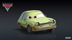 Acer, a character in Cars 2, is the voice of Peter Jacobson