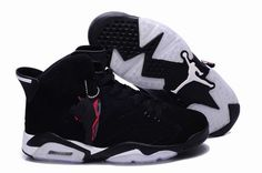 brand new 6f256 8d038 Authentic Cheap Air Jordan 6 Shop with Confidence white logo black all shoe  for Authentic Cheap Air Jordans 6 vi basketball sneaker hot sale